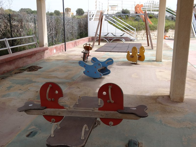 playground in the residence
