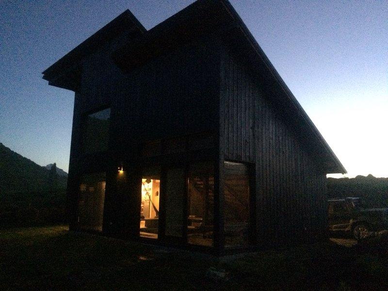 Cabin in the Mallín