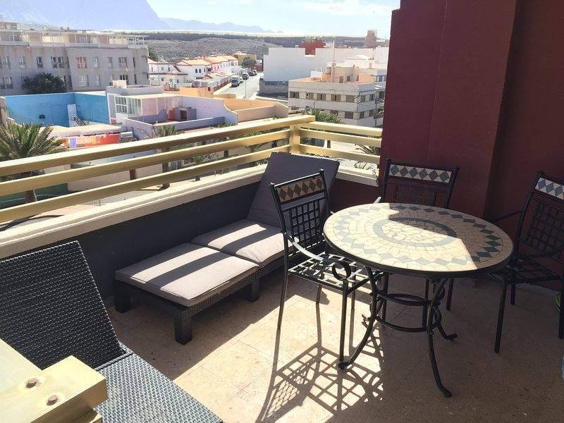 Beautiful apartment with sea view, holiday rental in El Agujero