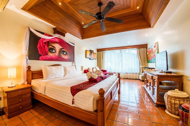 Bedroom nr 2 with King Bed En Suite