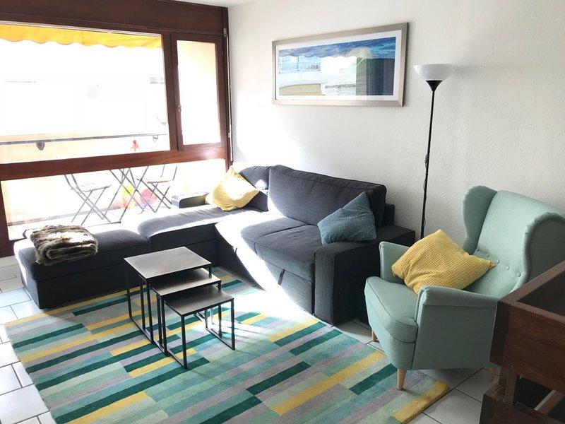 CHARMANT DUPLEX de 6 PERS (75 m2) A 50 M DE LA GRANDE PLAGE  AVEC PARKING PRIVE, holiday rental in Saint-Jean-de-Luz