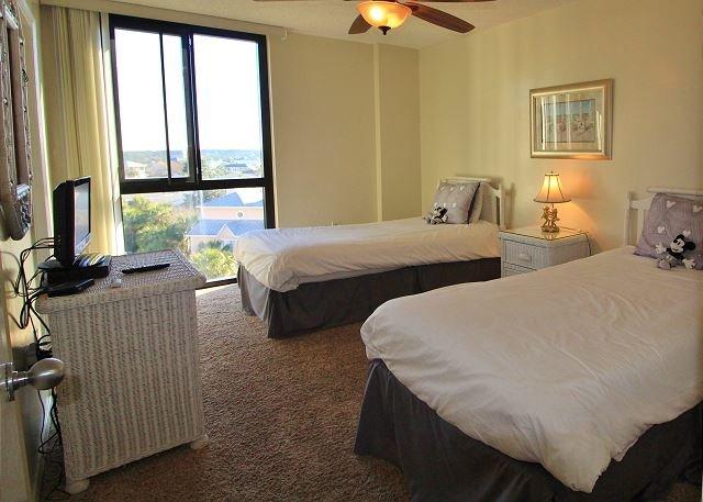 3 ° camera da letto con 2 letti singoli