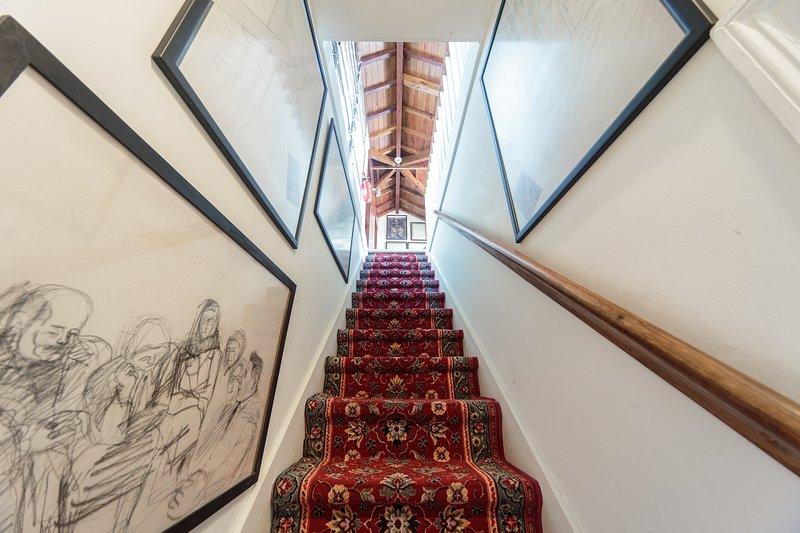 Escadas de acesso à Suite Pena  (2º piso)