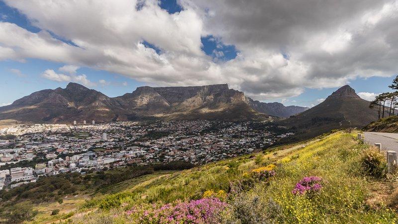 La bella Table Mountain, visti da Signal Hill