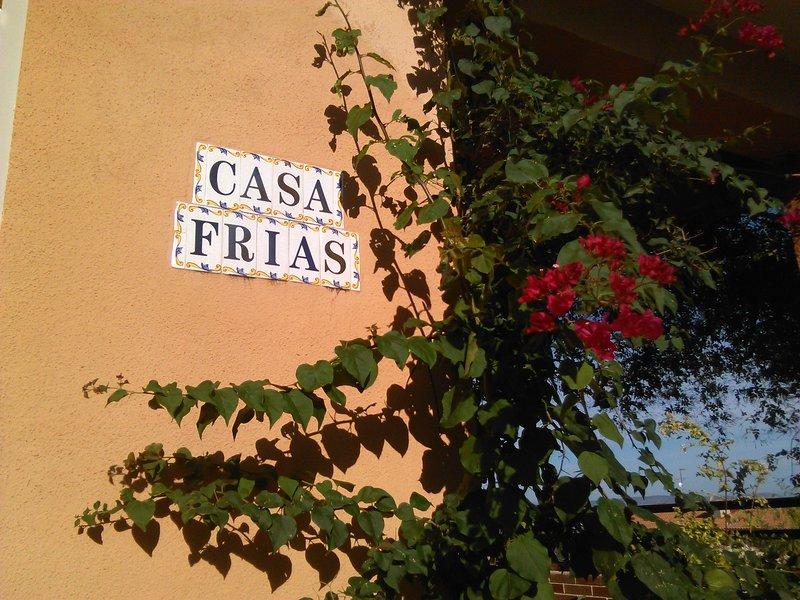 Casa Rural CASA FRIAS, holiday rental in Banyeres de Mariola