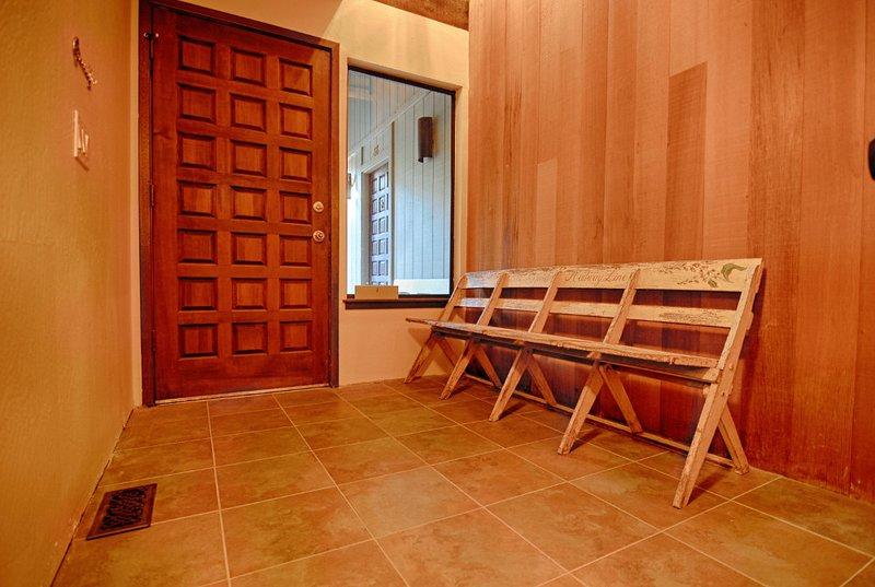 Cadeira, mobília, assoalho, pavimentação, Hardwood