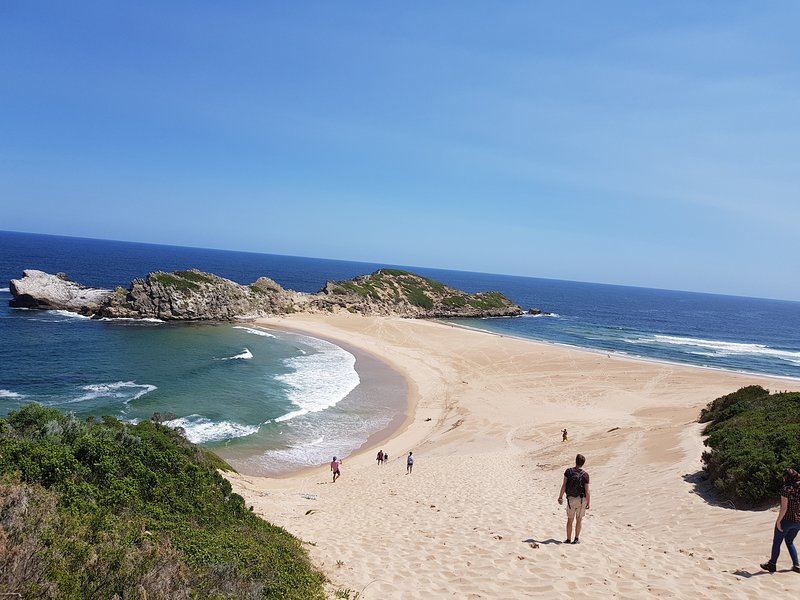The gap at Robberg Reserve