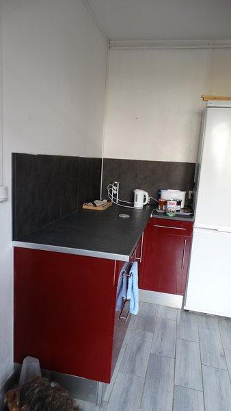 Zweite Küche Arbeitsebene