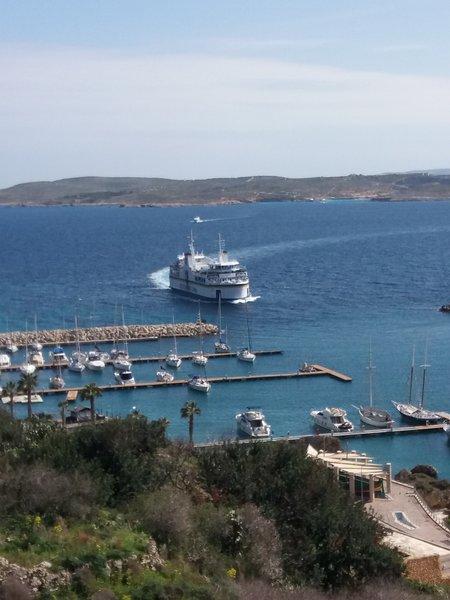 Veerboot naar Gozo