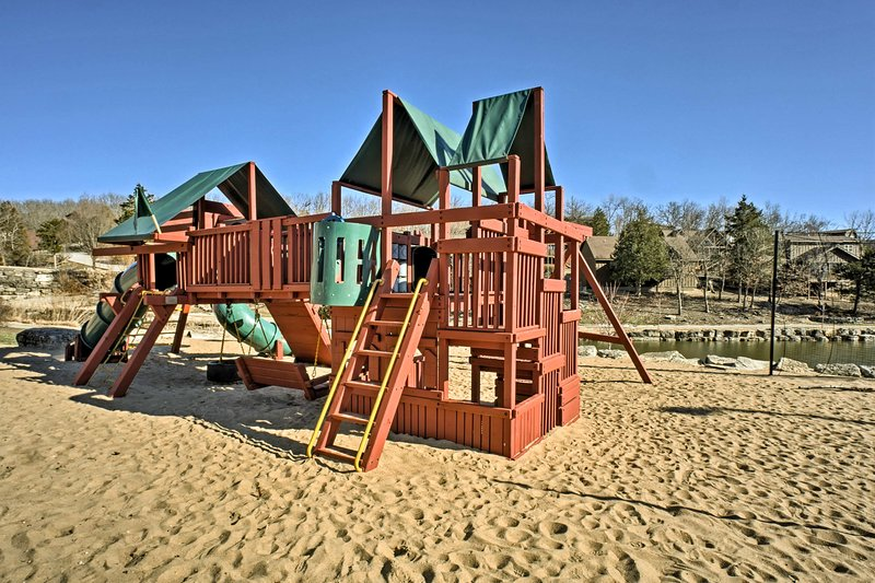 Your kids will love the playground!