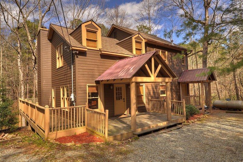 clear creek cabin peaceful and quite 4 bed 2 bath cabin on mountain rh tripadvisor co za