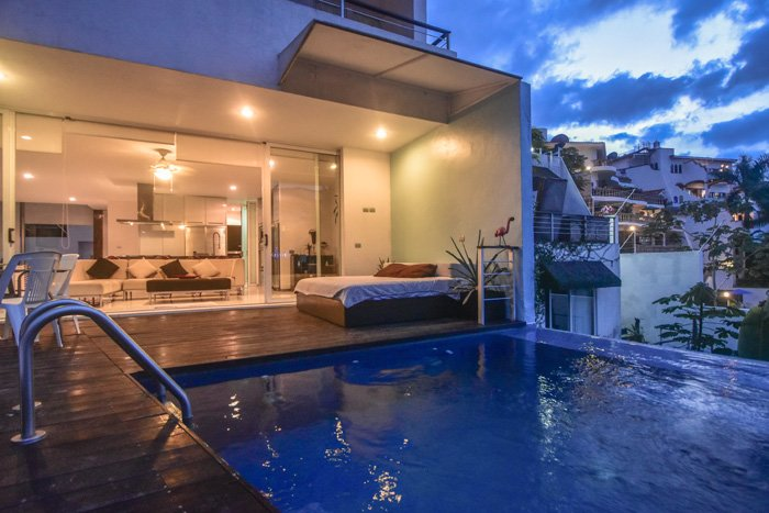 Stunning Luxurious 2Bdrm Ocean View Pool Villa, vacation rental in Puerto Vallarta
