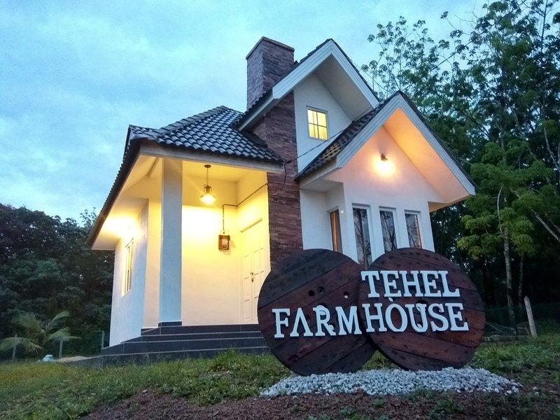 Tehel Farmhouse, alquiler vacacional en Durian Tunggal