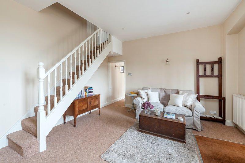 scale che portano alle camere da letto al piano superiore e bagno di famiglia