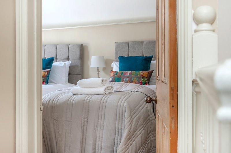 seconda camera da letto impostato come due gemelli. Può essere superking letto troppo.