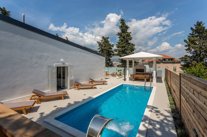 Modern villa with pool, Split center