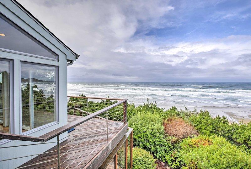 Breathtaking Newport views await at this 4-bed, 2.5-bath vacation rental house!