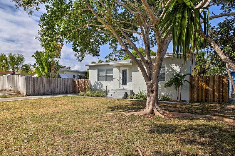 Esta casa é o local perfeito para explorar Fort Lauderdale.