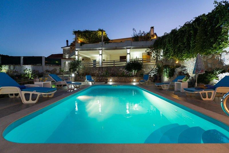 Sea view villa with pool, Brac island