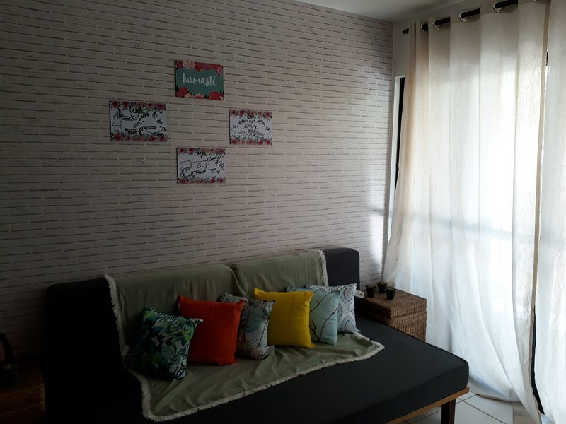 Apê Zen em MCZ, holiday rental in Maceio