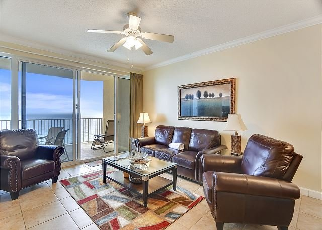 Book this SANITARY Gulf Front condo w/private balcony for your PCB vacation!!, vacation rental in Panama City