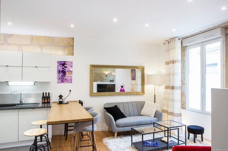 Magnifique maison sur 3 niveaux avec garage, holiday rental in Cenon