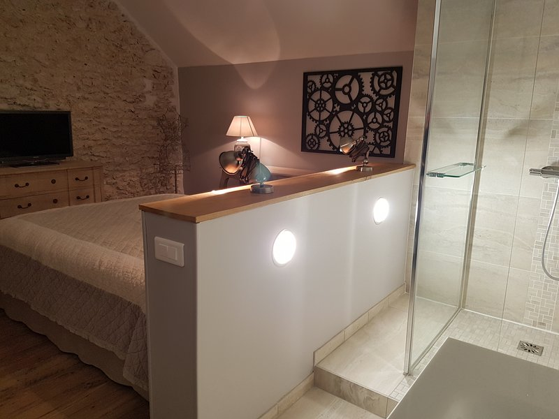 room and shower