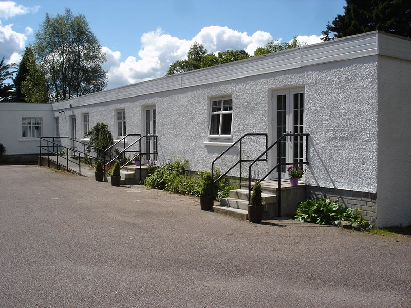 annexe building in courtyard area