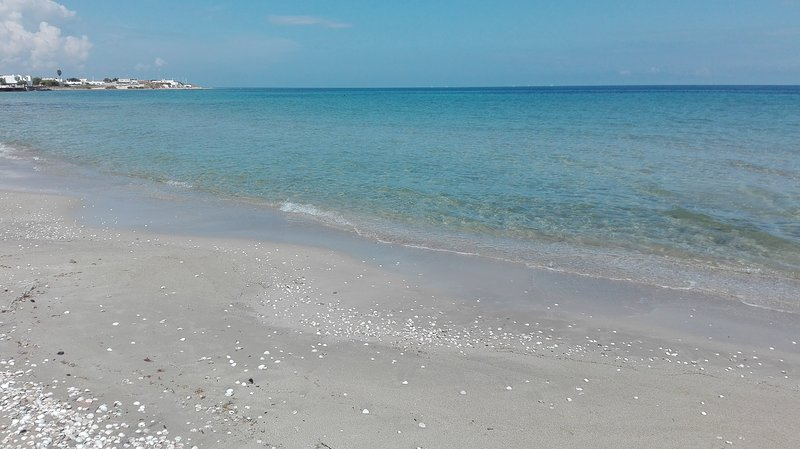 Nel Salento villetta con 7/ 8 posti letto a pochi mt dalla spiaggia, location de vacances à Casalabate