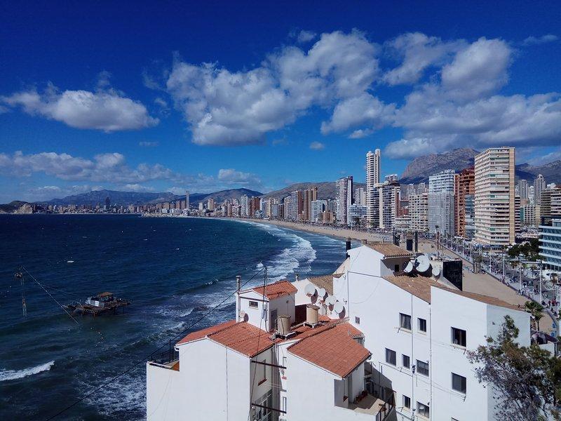 View from roof solarium