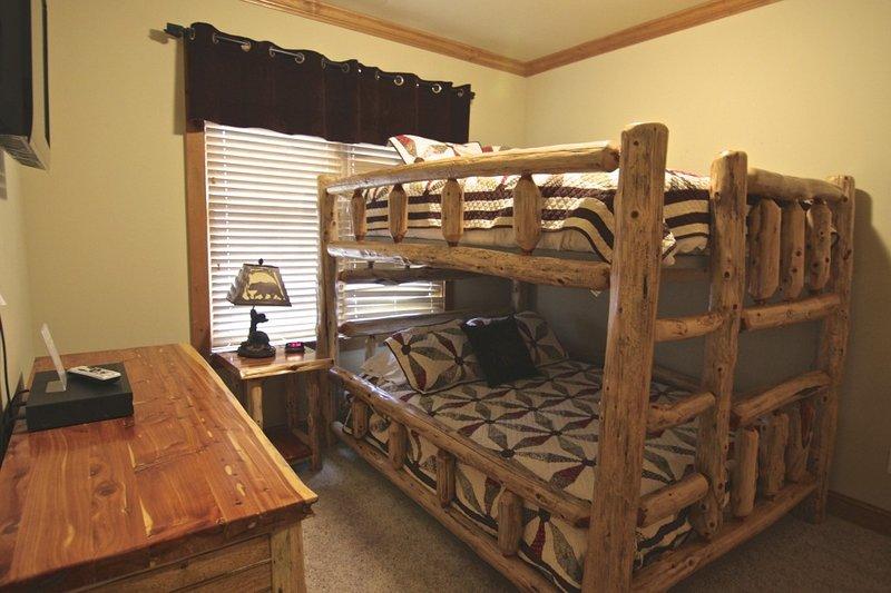 Mobili, letto, letto a castello, edificio, interni