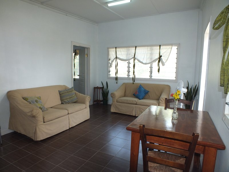 Relax in this space with air-con!