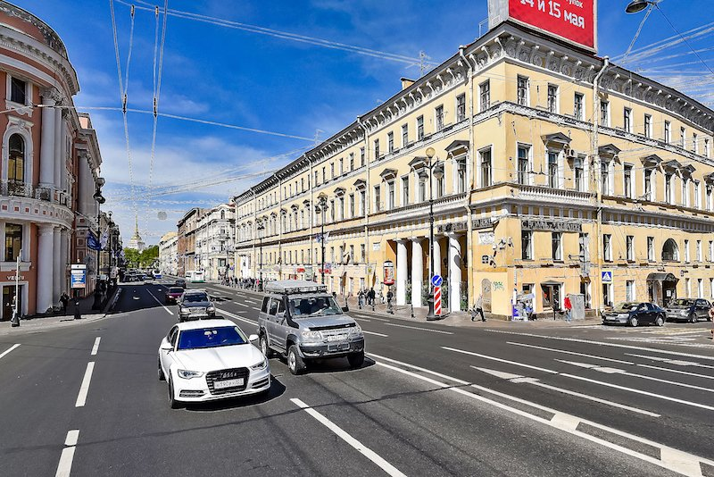 The Nevsky 18 building