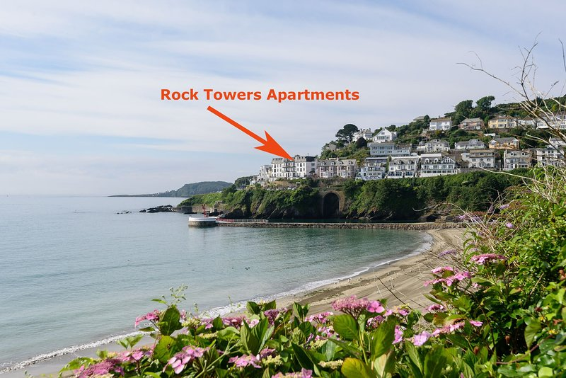 Rock Towers Apartment 11, holiday rental in Looe