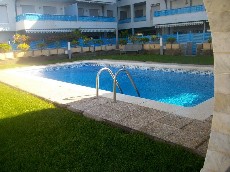 00342- Hermoso apartamento con vista al mar, vacation rental in L'Hospitalet de l'Infant