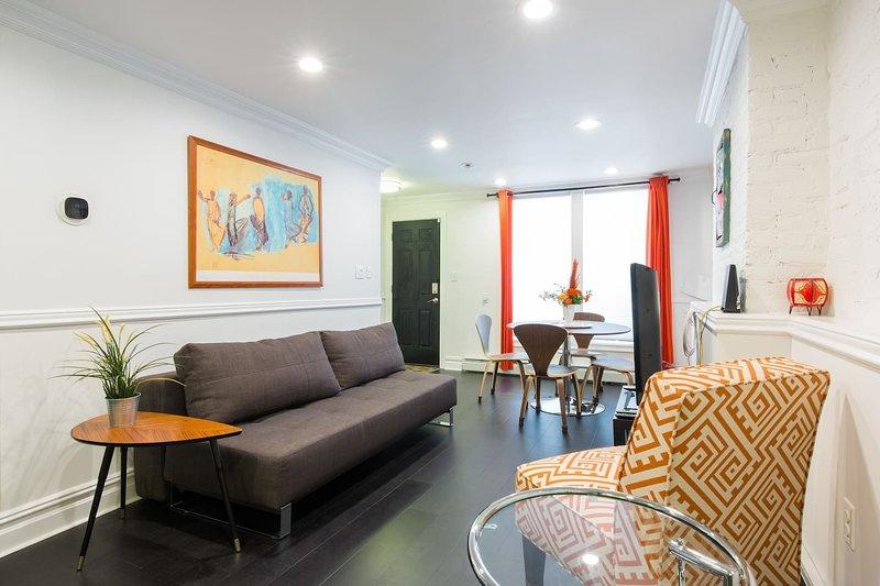 Luxury Apartment, Near Subway, Perfect for Work or Play!, alquiler de vacaciones en Brooklyn
