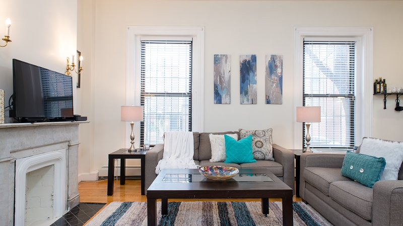 Pleasing Chic South End Back Bay Downtown Boston Apartment Updated Beutiful Home Inspiration Ommitmahrainfo