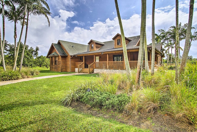 Cozy Redlands Cabin - 30 Mins to Florida Keys!, alquiler vacacional en Florida City