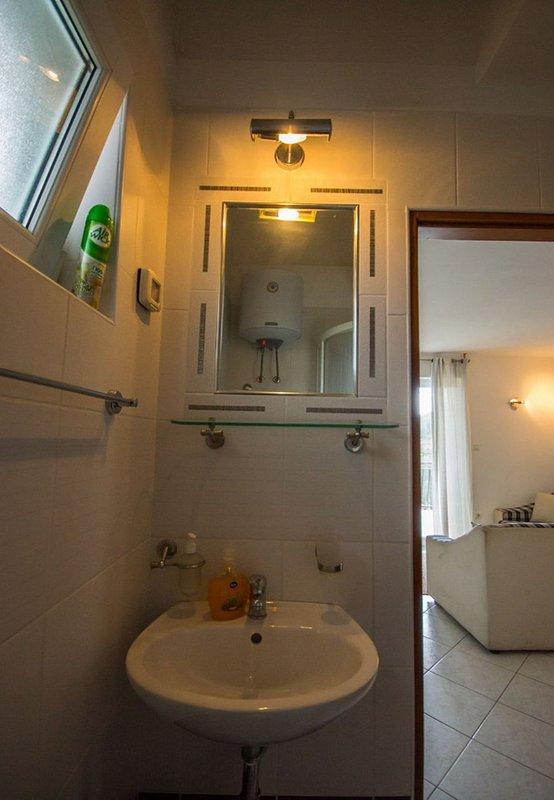 A1 plavi (2 + 2): baño con inodoro.