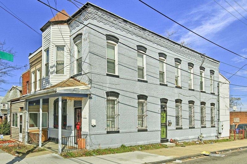 Disfrutar de este 2 dormitorios, 1 baño-apartamento de vacaciones en Washington DC