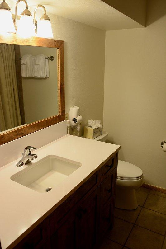 Queen bathroom vanity
