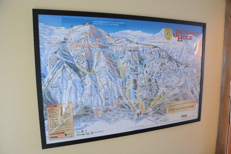 Jackson Hole Mountain Resort trail map