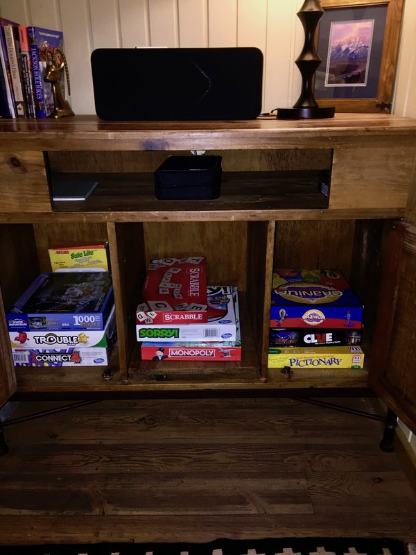 Good selection of board games
