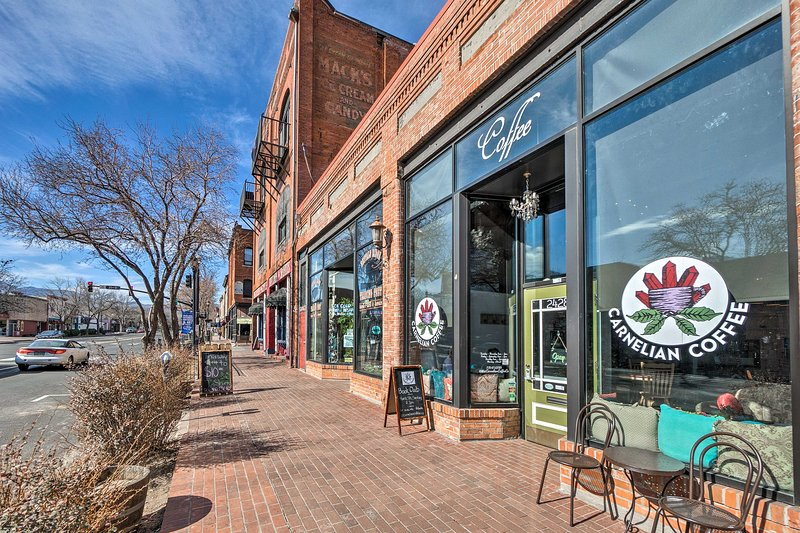 Shop, dine, or browse along Colorado Avenue for a leisurely afternoon.