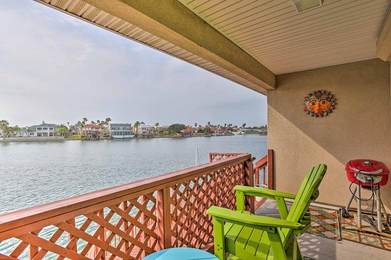Explorar la costa de Texas de este condominio de alquiler de vacaciones!