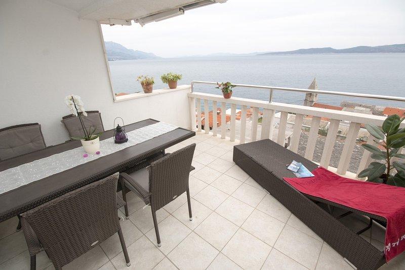 Apartment 3340-7 for 5 Pers. in Pisak, holiday rental in Pisak