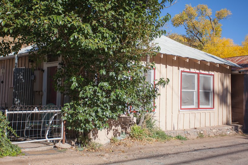 Our Historic Bisbee Miner's Cottage. Convenient and Rare on-street parking right in front!