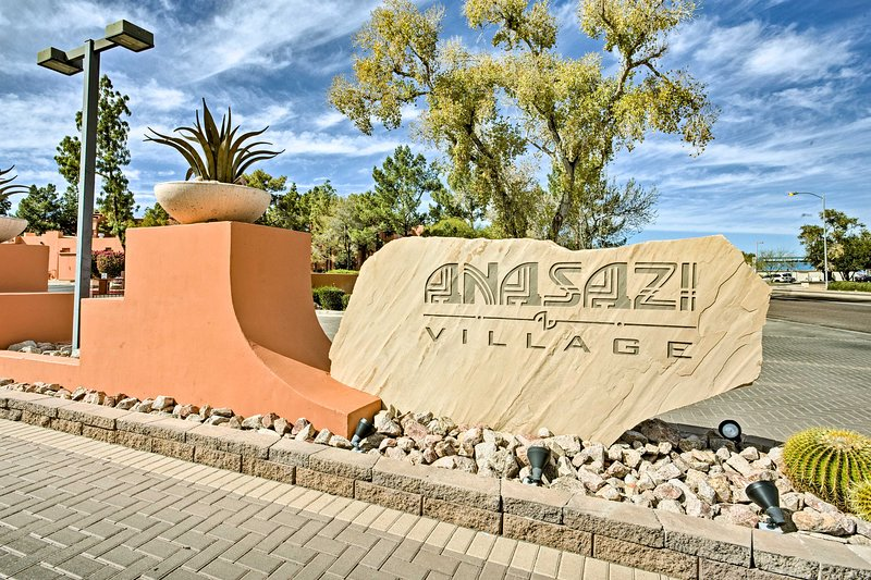The condo is located in the Anasazi Village Condominiums.