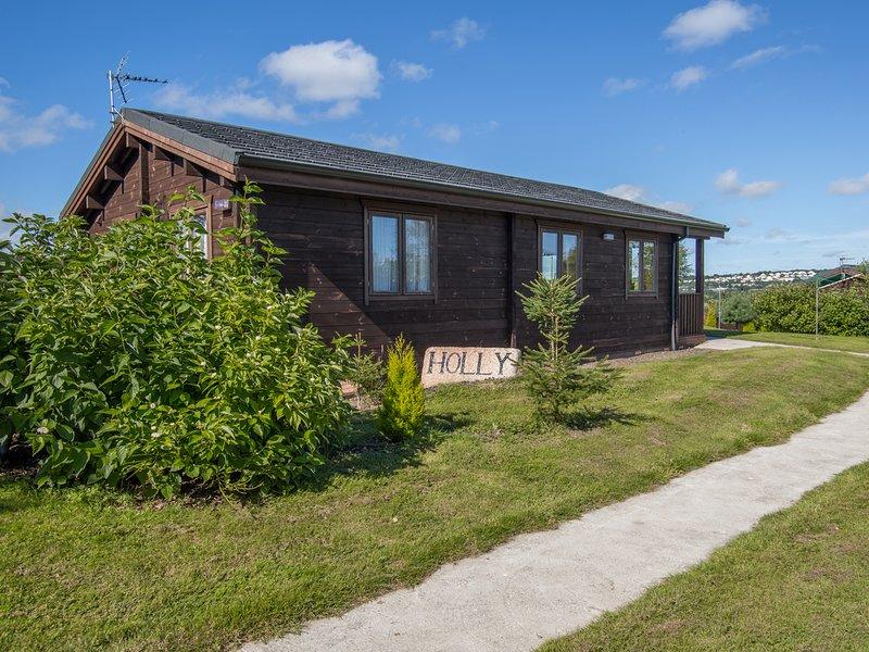 HOLLY LODGE, WiFi, open-plan, en-suite, Ref 974706, vacation rental in Lanivet
