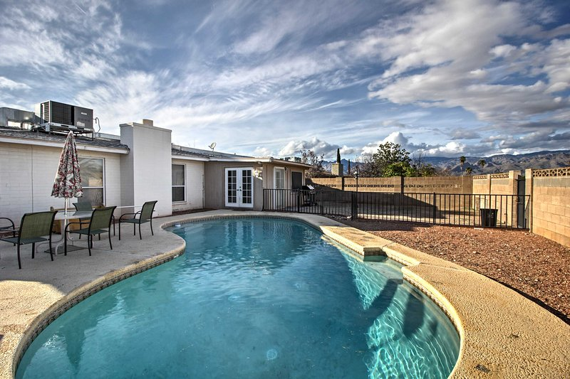 Look forward to a memorable stay at this Tucson vacation rental!